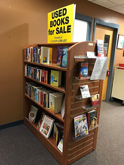 One of the Fundraisers- the ongoing book sale.